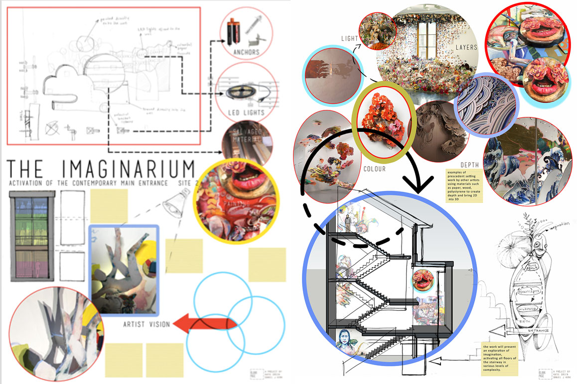 Imaginarium - Proposal by daniel j kirk and Katie Green